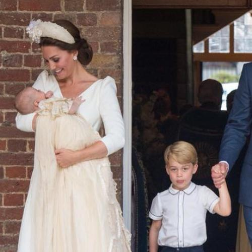 Baby Louis Looks Just LIke Big Brother In Christening Pics