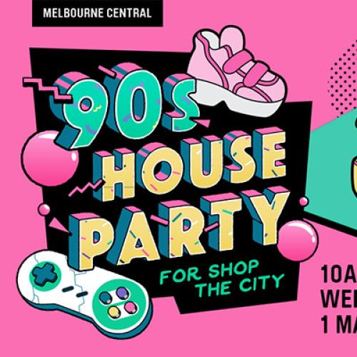 There's A 90s House Party In Melbourne Happening Right NOW!
