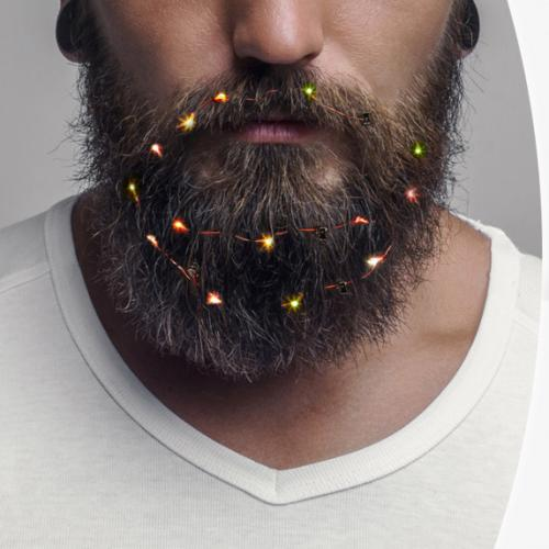 Christmas Lights For Your Beard Exist