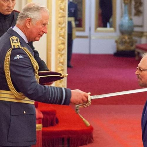 Knight Fever! Bees Gees Star Gibb Receives Knighthood