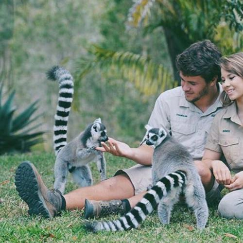 Is That Bindi Irwin Showing Off A Diamond In Her Insta?