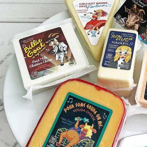 80's Band-Themed Cheeses Set To Hit Aldi Stores In The Us