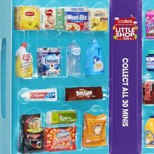People Are Selling Coles 'Little Shop' Toys For How MUCH?