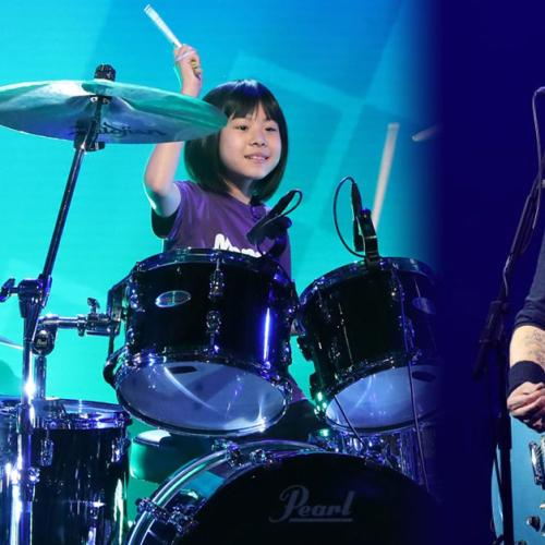 Watch Dave Grohl Send A Sweet Message To 9-Year-Old Drummer