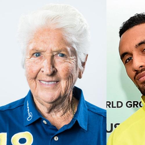 Nick Kyrgios Calls Olympic Legend Dawn Fraser 'Racist'