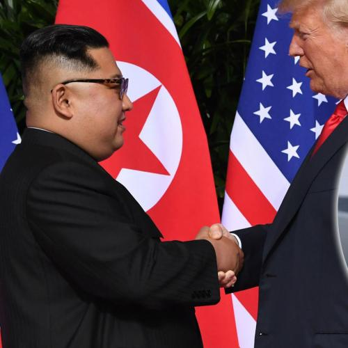 Dennis Rodman Gets Super Emotional Seeing Trump and Kim Meet