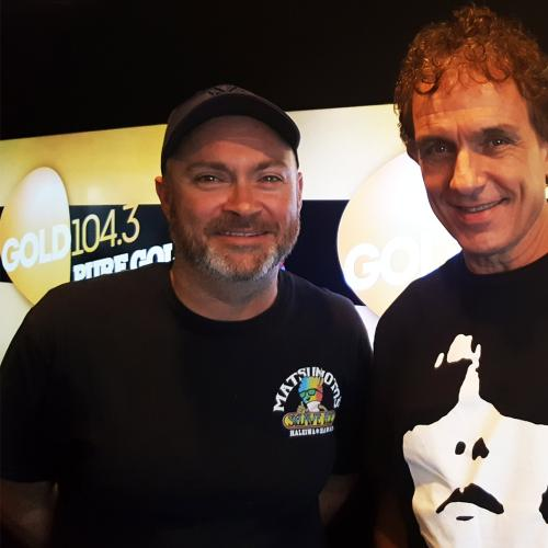 Ian Moss Joins Gavin Miller In Studio For A Performance