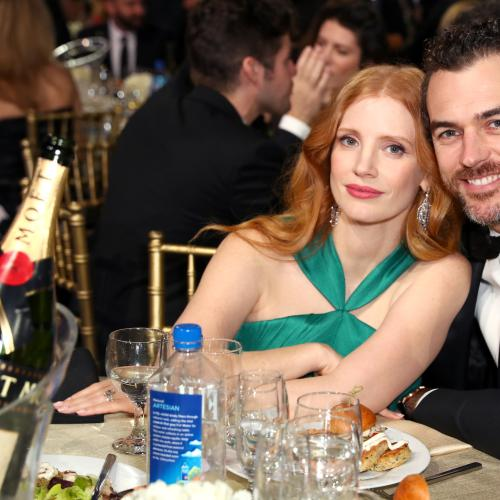 Jessica Chastain & Husband Gian Welcome Baby Girl