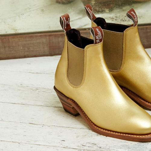 R.M. Williams Are Bringing Back Their Famous Gold Boots