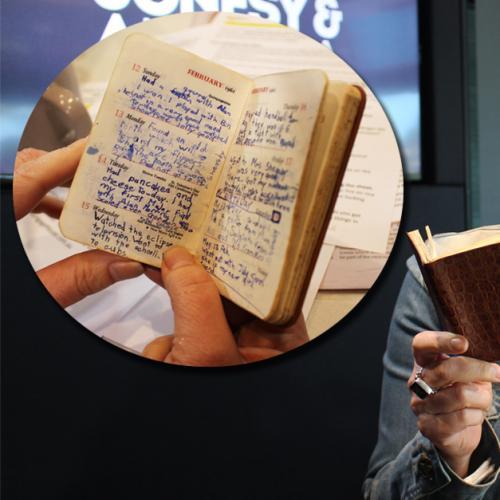 Amanda Reads Hubby Harley's Diary