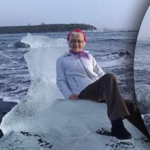Grandma Sits On Chunk Of Ice For Pic & Floats Out To Sea