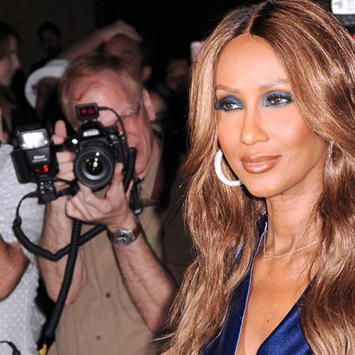 Iman Opens Up For First Time Since David Bowie's Death
