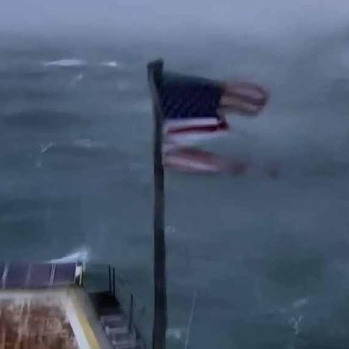 A Flag Called Kevin Is The Unlikely Hero Of Hurricane Flo
