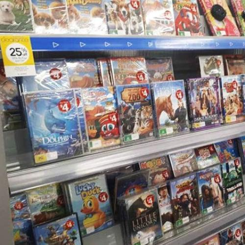 Kmart Have Stopped Selling CD's And DVD's