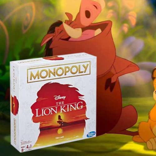 The Lion King Version Of Monopoly Is About To Be Released!