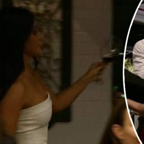 MAFS' Martha Dumps Red Wine On Cyrell In Explosive Reunion