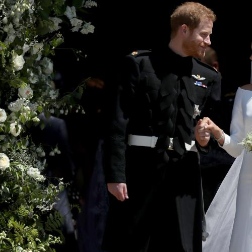 Meghan Markle Reveals Memento Hidden Inside Wedding Gown