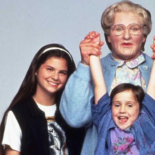 Pierce Brosnan Reunites With The 'Mrs. Doubtfire' Kids