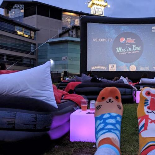 Melbourne's Latest Outdoor Cinema Has BEDS!
