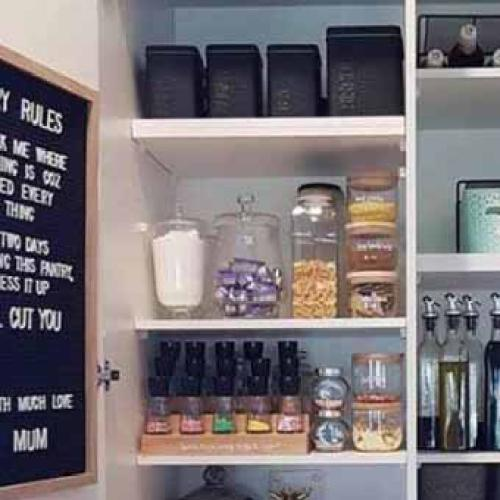 Why The Pitchforks Are Out Over This Super-Organised Pantry