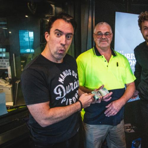 The Incredible Reason This Listener Rocked Up With 10K Cash