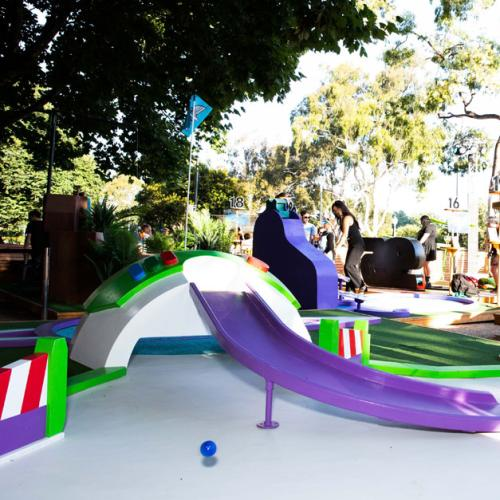 Take Your Inner Child Out At Melbourne's Pixar Putt