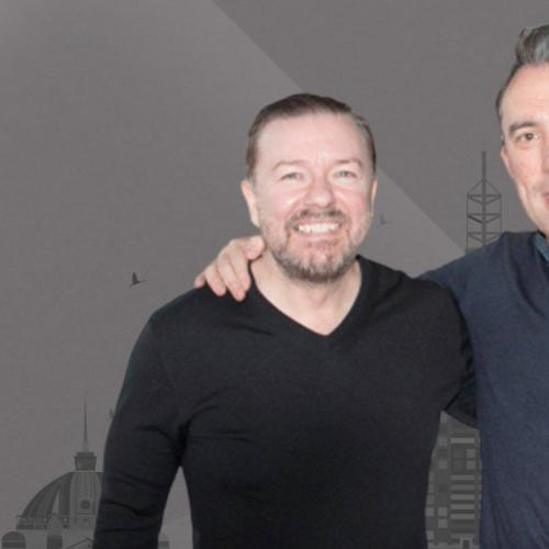 Ricky Gervais Joins The Christian O'Connell Breakfast Show