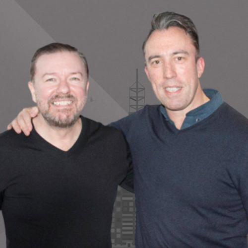 Ricky Gervais Reminds Christian Of A Mistake After Winning A Radio Award