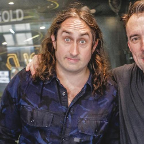 Ross Noble Drops By To Help Christian Be A Better Melburnian