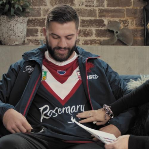 Roosters Star James Tedesco Pays Special Tribute To His Mum