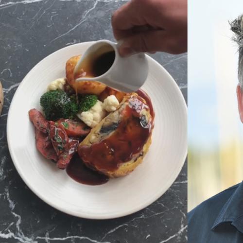 Gordon Ramsay's Restaurant Now Serves Vegan Sunday Roast