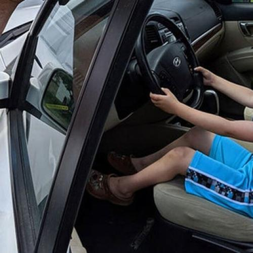 Four-Year-Old Boy Stole Family Car To Buy Some Lollies