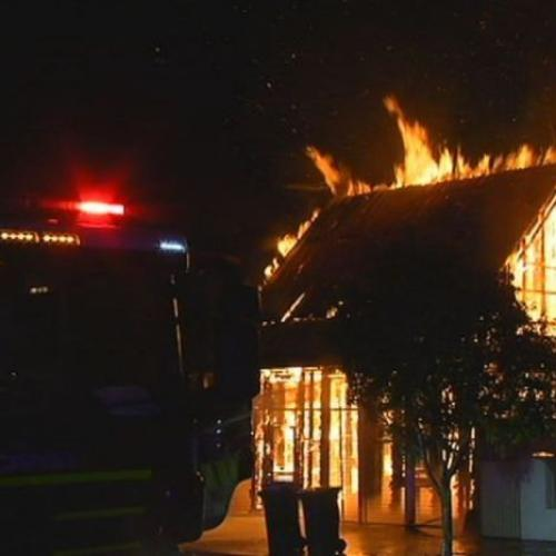 Two Dozen Firefighters Fight Massive House Fire In Melbourne