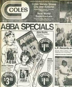 This Coles Catalogue Of ABBA Merch Is Nostalgia Overload