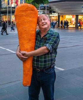 Melbourne's Carrot Man Is Back!