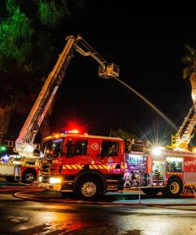 Melbourne Family House Destroyed By A Fire Overnight
