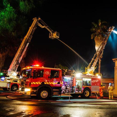 A Fire Has Ripped Through An Abbotsford Property