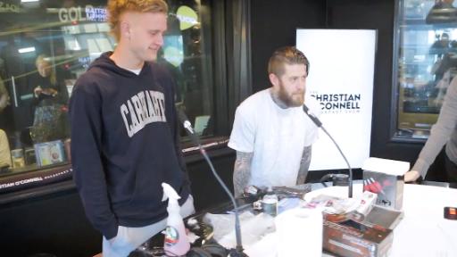Jaidyn Stephenson Tattooing Listeners
