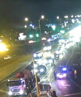 Serious Accident Shuts Down Entry Ramp To The Tullamarine Freeway