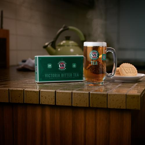 Victoria Bitter Launches Beer Flavoured Tea And It's Not April Fools
