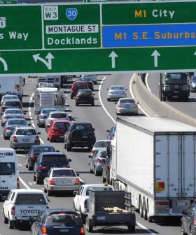 Huge Delays For City-Bound Traffic After Crash On West Gate Bridge