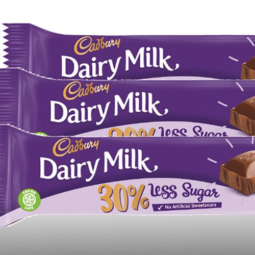Cadbury Has Created A 30% Less Sugar Dairy Milk Chocolate Block