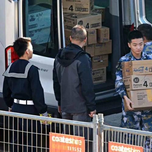 Chinese Media Hits Back Over Sailors Buying Baby Formula