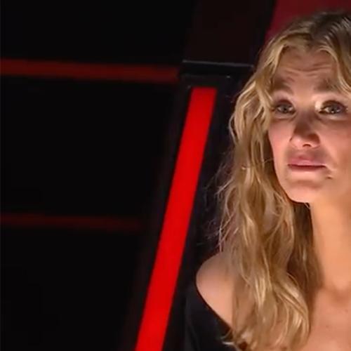 Delta Goodrem Breaks Down In Tears On The Voice