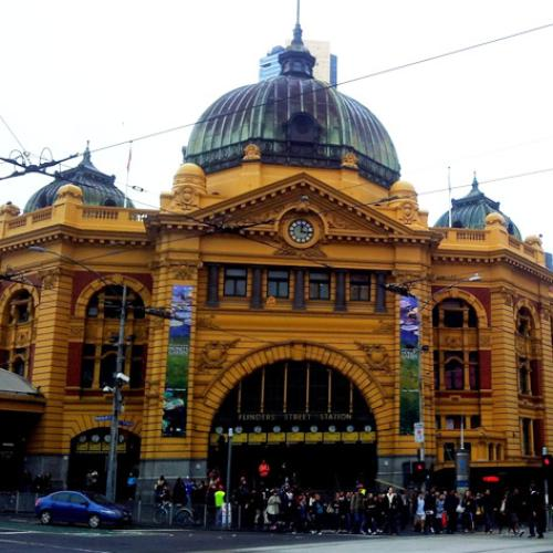 Flinders St Station's Pedestrian Exit Closed Causing Chaos