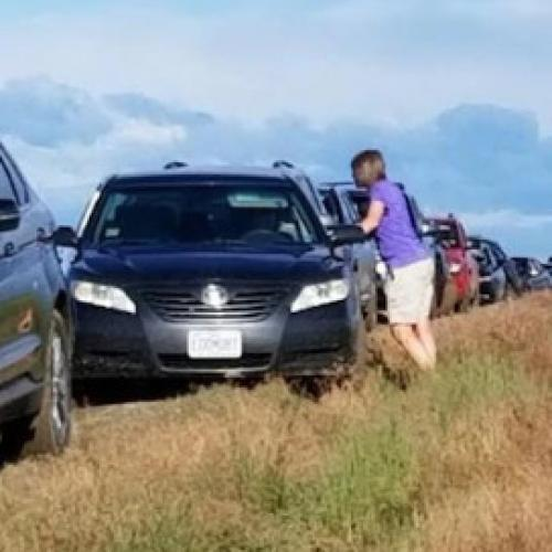 "Google Maps ""Shortcut"" Sees 100 Drivers Stuck In A Field"