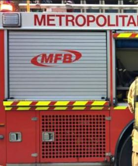 Out-Of-Control Fire Burning In City's East Shuts Burwood Highway