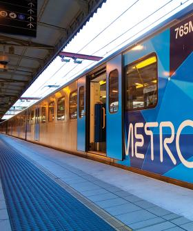 ALL Melbourne Train Services Delayed As Truck Hits Bridge