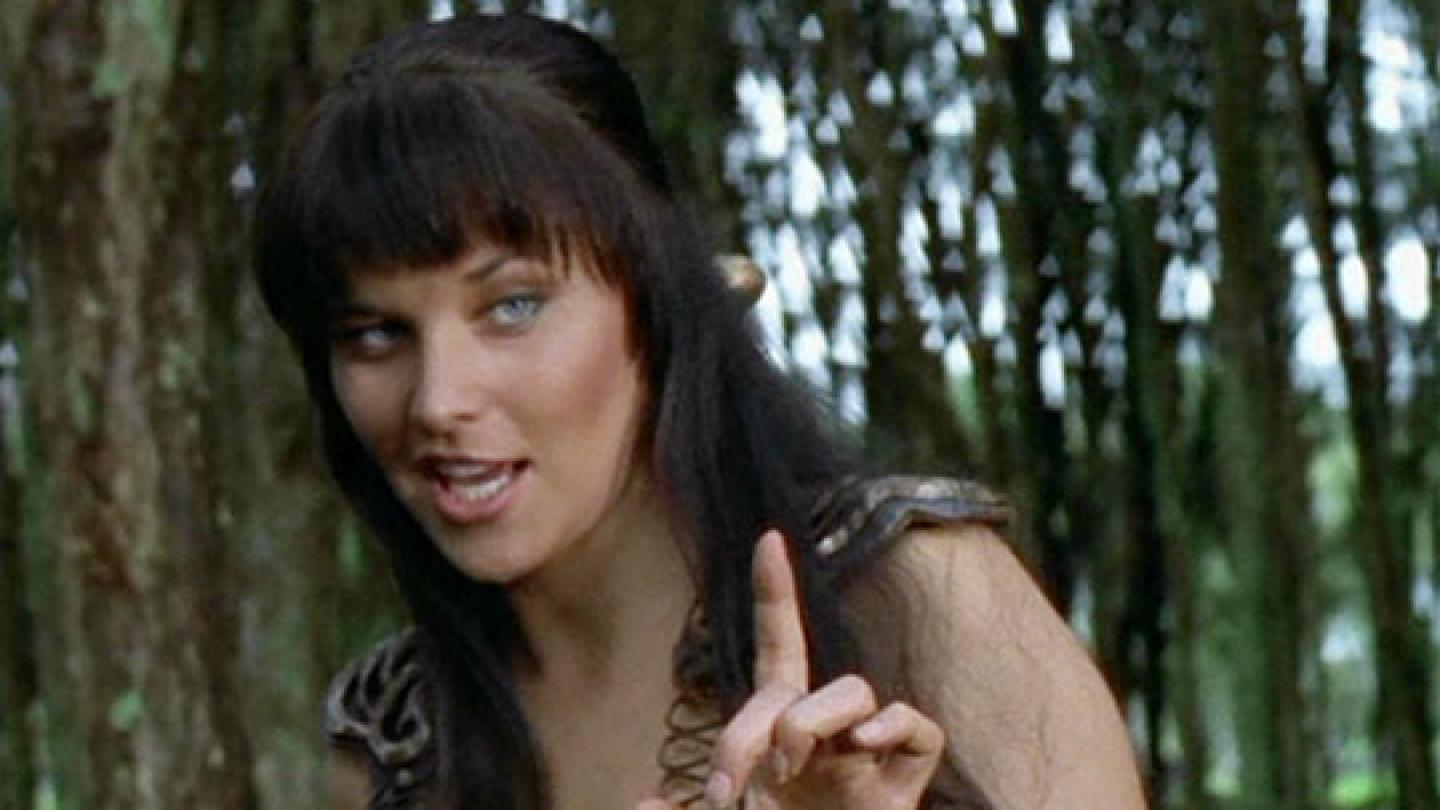 Who's Calling Christian? Lucy Lawless