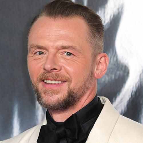 Who's Calling Christian? Simon Pegg